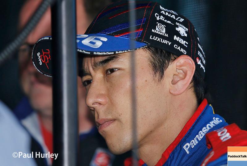 May 12-13: Takuma Sato at the Grand Prix of Indianapolis.