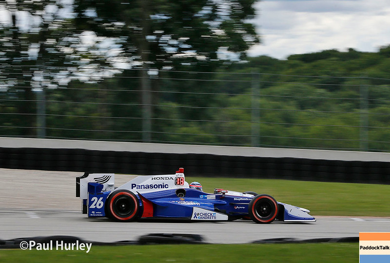 June 24-25: Takuma Sato at the Kohler Grand Prix of Road America.