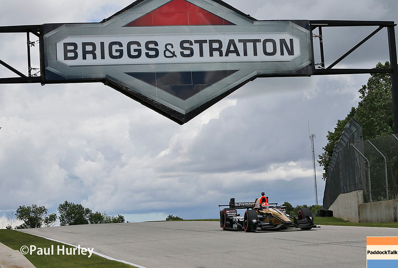 June 24-25: James Hinchcliffe at the Kohler Grand Prix of Road America.