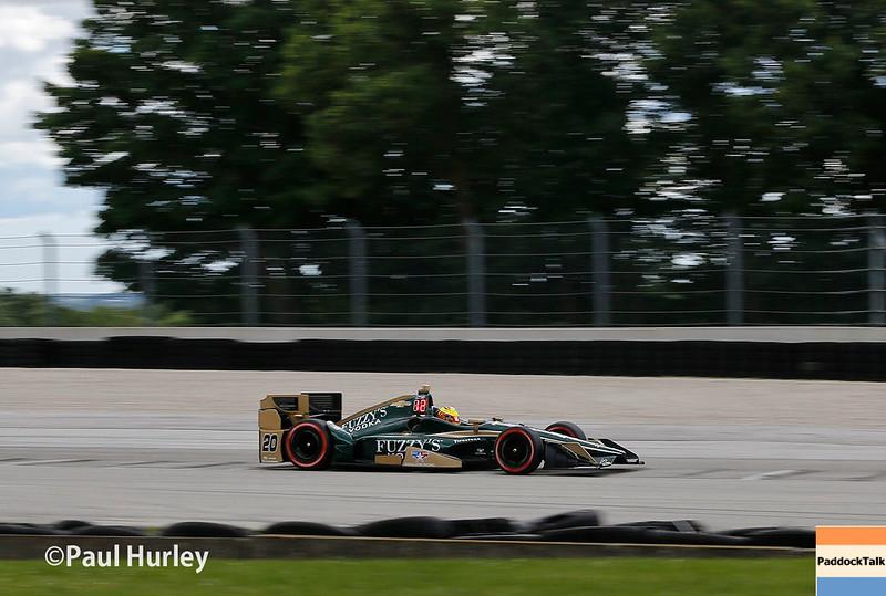 June 24-25: Spencer Pigot at the Kohler Grand Prix of Road America.
