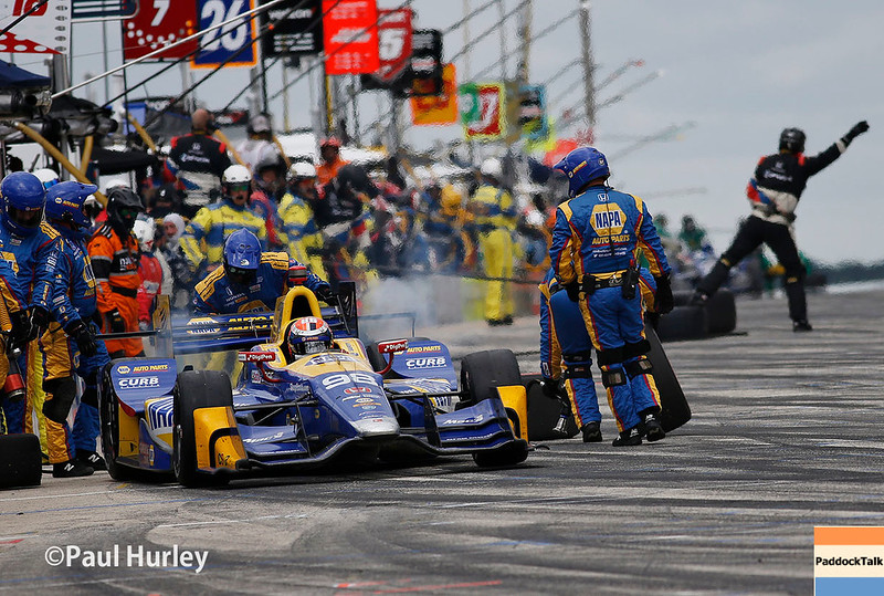 June 24-25: Pit action at the Kohler Grand Prix of Road America.
