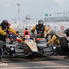 March 10-12: James Hinchcliffe pit stop at the Firestone Grand Prix of St. Petersburg.