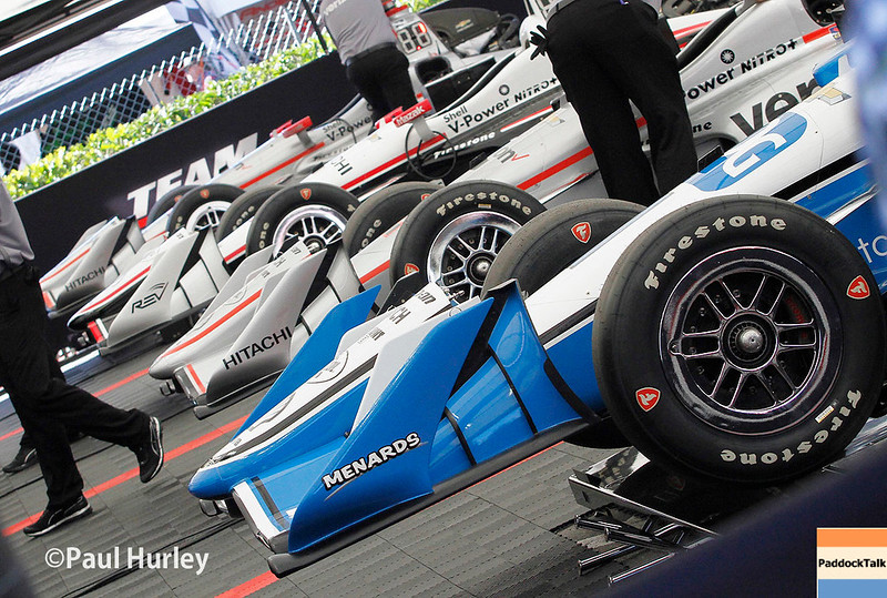 March 10-12: Penske cars at the Firestone Grand Prix of St. Petersburg.