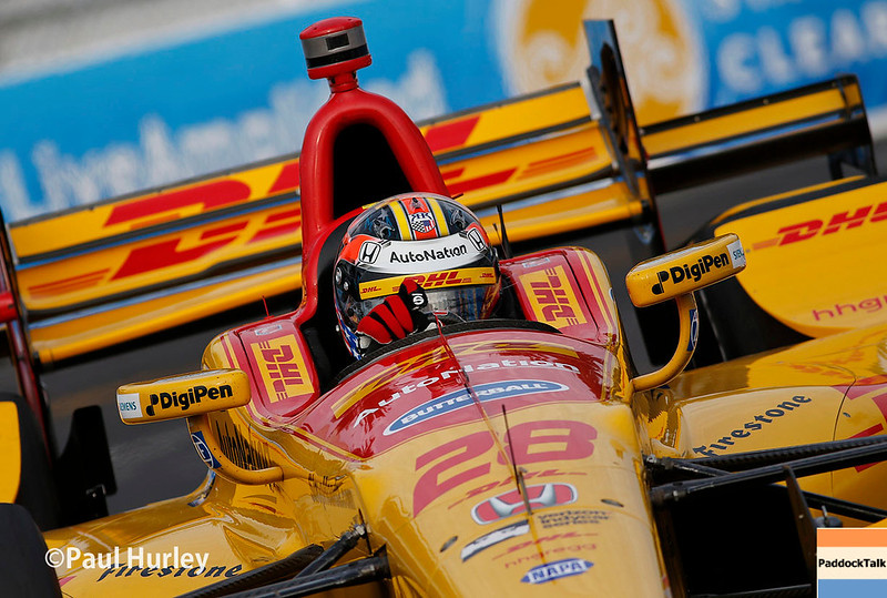 March 10-12: Ryan Hunter-Reay at the Firestone Grand Prix of St. Petersburg.