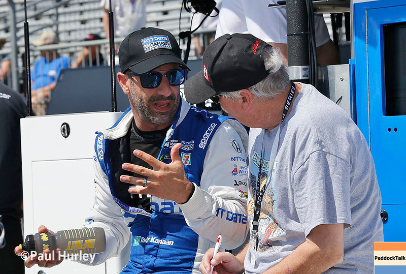 March 10-12: Tony Kanaan and Robin Miller at the Firestone Grand Prix of St. Petersburg.