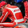 March 10-12: Sebastien Bourdais after the Firestone Grand Prix of St. Petersburg.