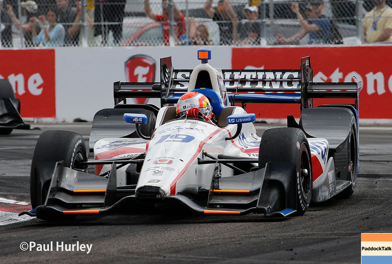 March 10-12: Ed Jones at the Firestone Grand Prix of St. Petersburg.