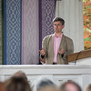 "Professor Alec Ryrie delivers his lecture on ""Protestants: The Faith that Made the Modern World"" as part of the interfaith lecture series on Friday, June 30, 2017 in the Hall of Philosophy. PAULA OSPINA / STAFF PHOTOGRAPHER"