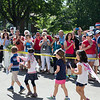 Chautauquans wait for students from the Children's School to line up in front of the Colonnade during the annual Fourth of July Parade on Tuesday, July 4, 2017. PAULA OSPINA / STAFF PHOTOGRAPHER