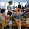 Chautauqua Theater Company's cast rehearse Noise Off, which is the first production of the season, on Saturday, June 24, 2017 in Studio A. PAULA OSPINA / STAFF PHOTOGRAPHER