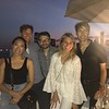 Grand Banks Restaurant -  Pier 25 in  NYC - August 19, 2017 - Suzanne, Drew, Bryce, Mel, Alex