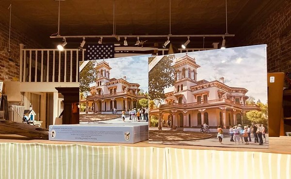 Commissioned for Bidwell Mansion Puzzle...