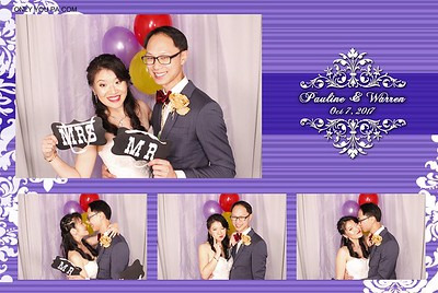 Pauline & Warren PhotoBooth