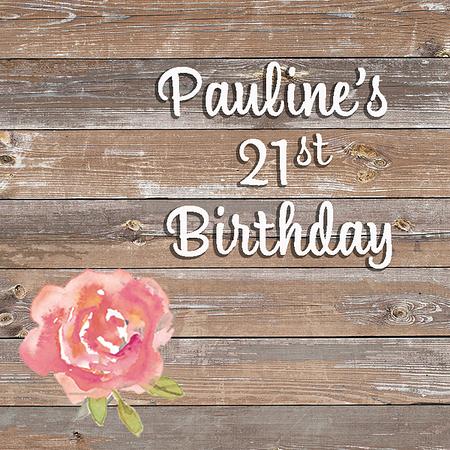 Pauline's 21st - Aug 2018