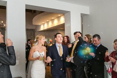 Confetti, wellwishers & guests
