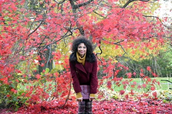 Autumn/Winter jackets fashion, model Joanna Esch, stylist Julie Hannah, make-up Jak Morgan. Pic by Paul Chappells  23/10/15