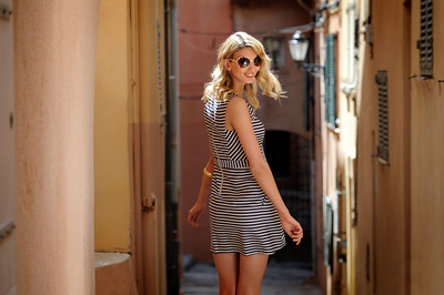 Shooting fashion in St. Tropez