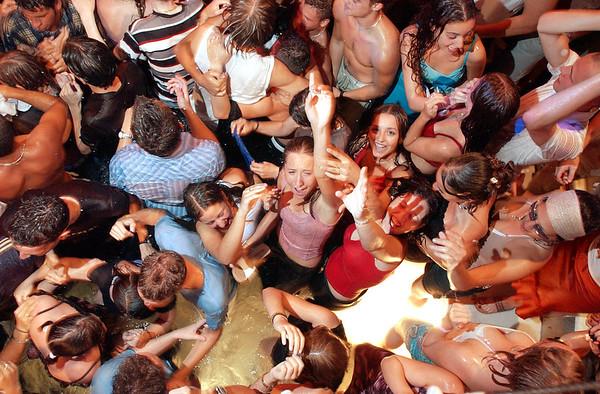 Fun in Ibiza.