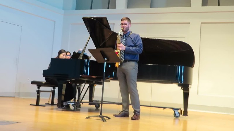 Paul's 1st Master's Recital 3/25/18