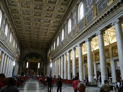 Central nave of the Santa Maria Maggiore