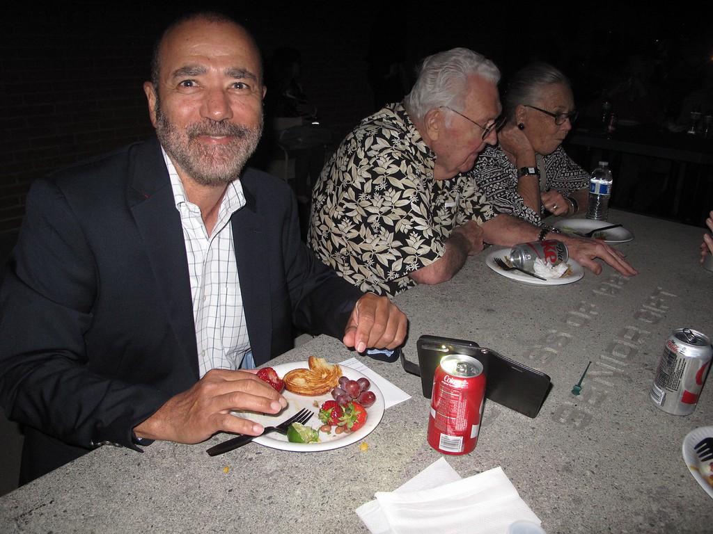 Paul's Senior Recital with dinner afterwards on Friday evening, April 21, 2017