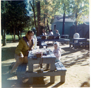 1964 - Lake Placid - Mom and Nancy