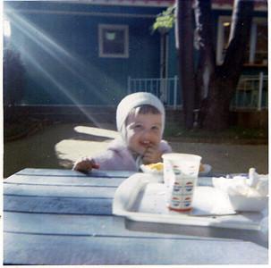 1964 - Nancy  in Lake Placid