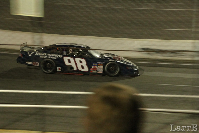 #98 Daniel Hemric finished 2nd...and won the series championship