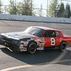 #8 pure stock Ron Flynn finished 6th in pure stock