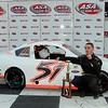 25 year old KEVIN BUSCH wins the 25 lap MMRA feature at Concord, NC