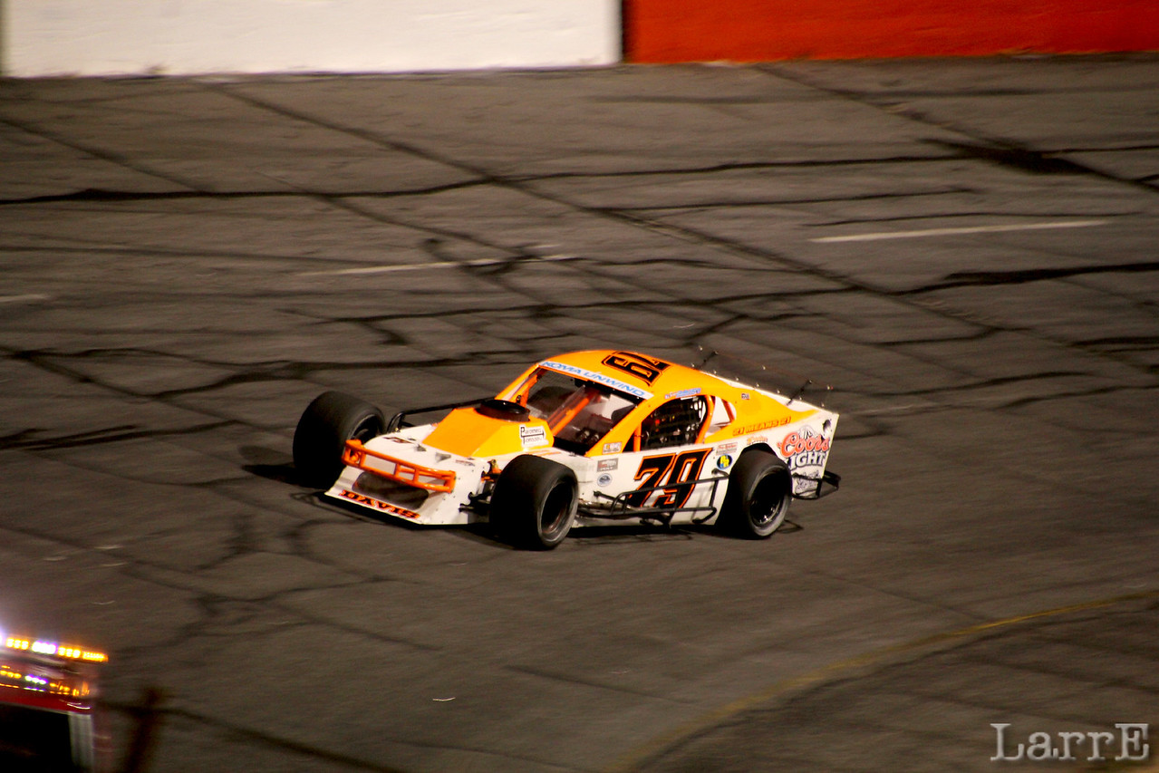 The first half of the race #79 Spencer Davis was the hottest thing out there. The second half....not so much.
