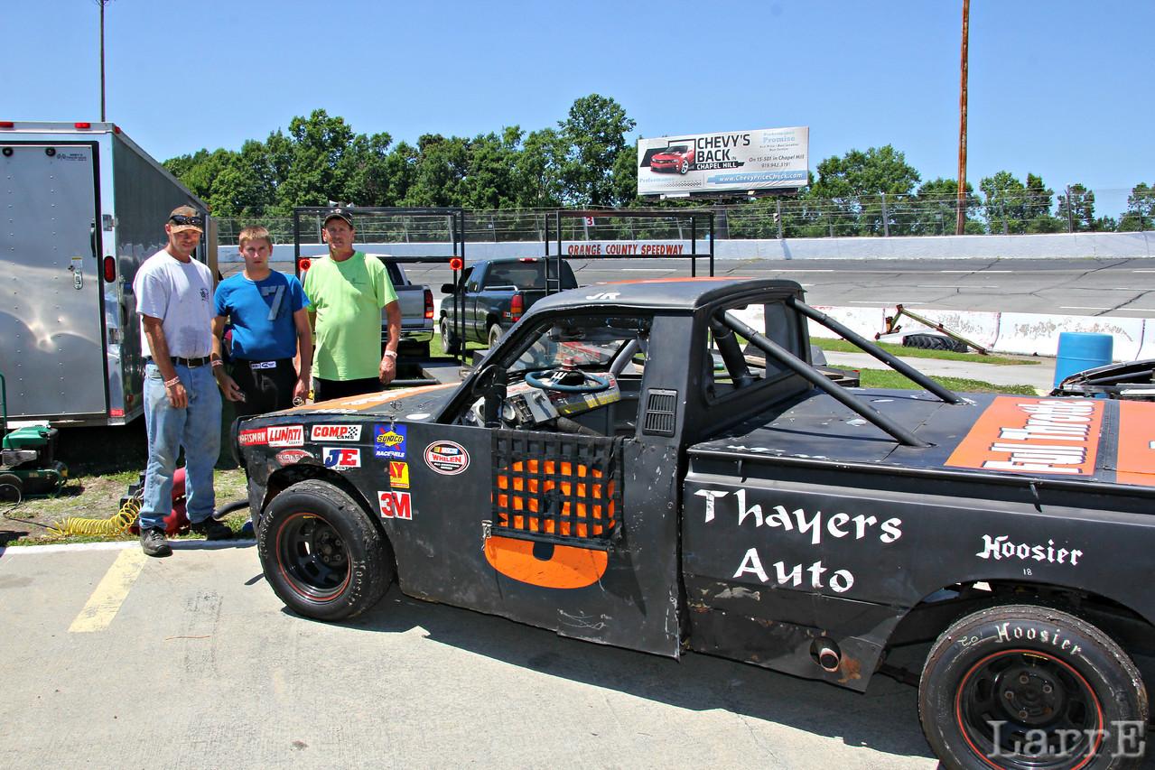 the Thayers Auto truck crew