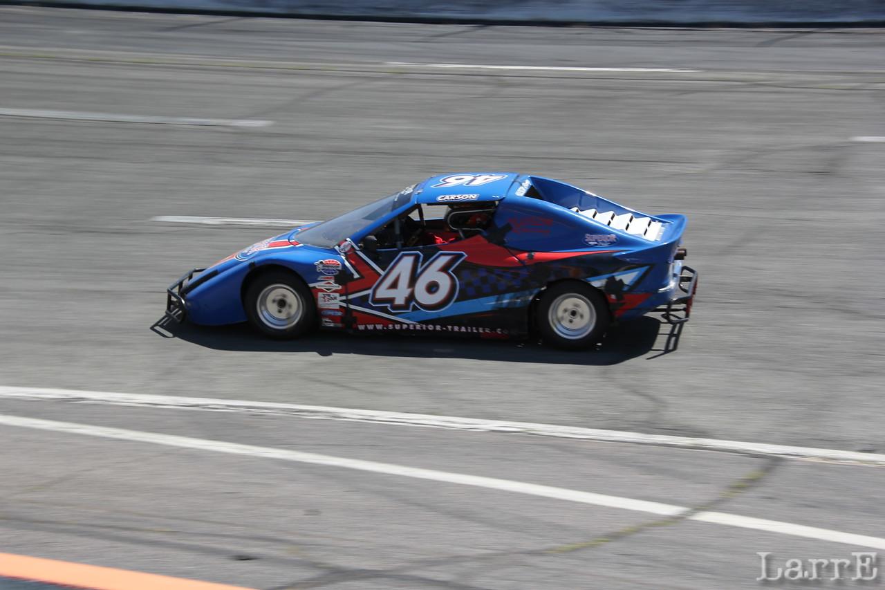 Carson wheels the #46 Bandolaro