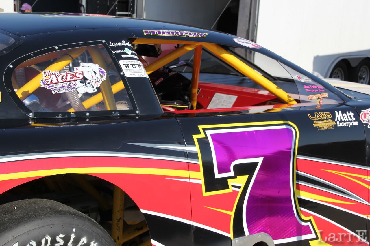 Matt Murphy was 5th in the PASS Late Model Series race