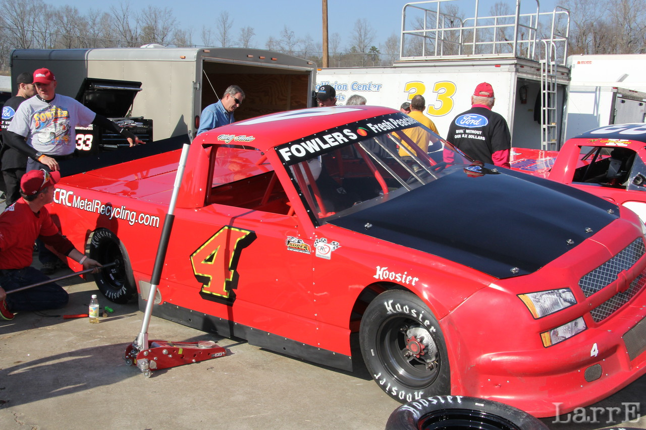 Wally Fowler's Lil' Red Truck