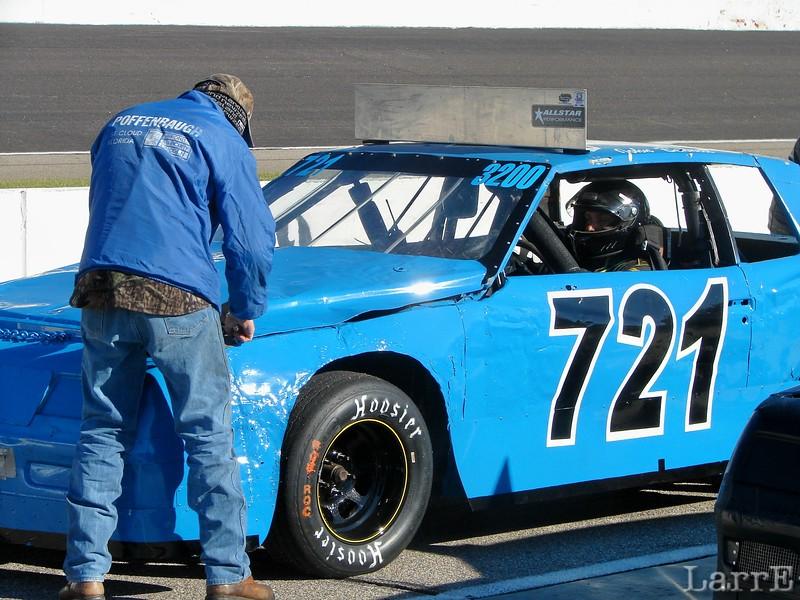 #721 John Bennett<br /> finished 48th