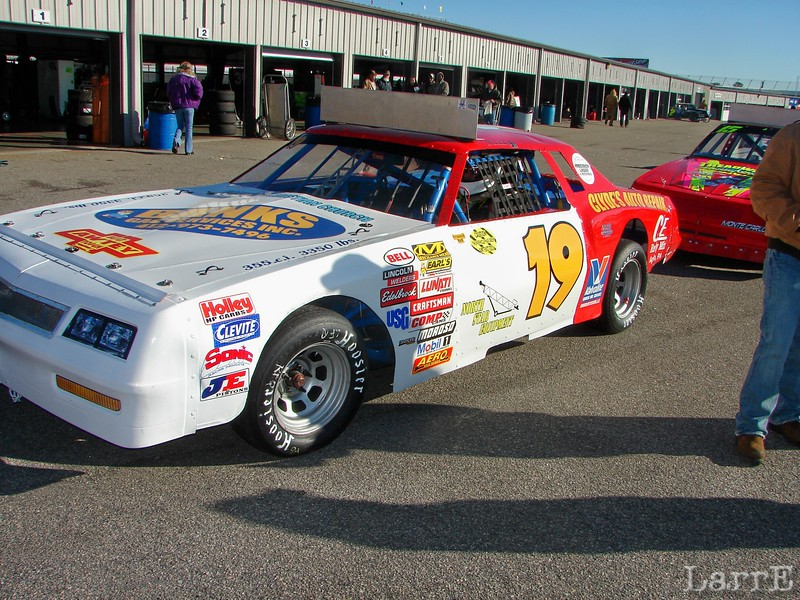 #19 Scott Bowman<br /> Marysville, Pa<br /> finished 31st