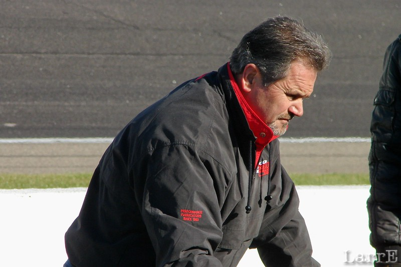 Ira Small does tech inspection for the Kimmel Series.