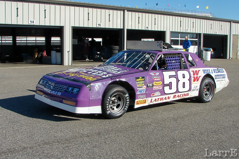 #58 Larry Latham<br /> Louisville, Ky<br /> finished 6th