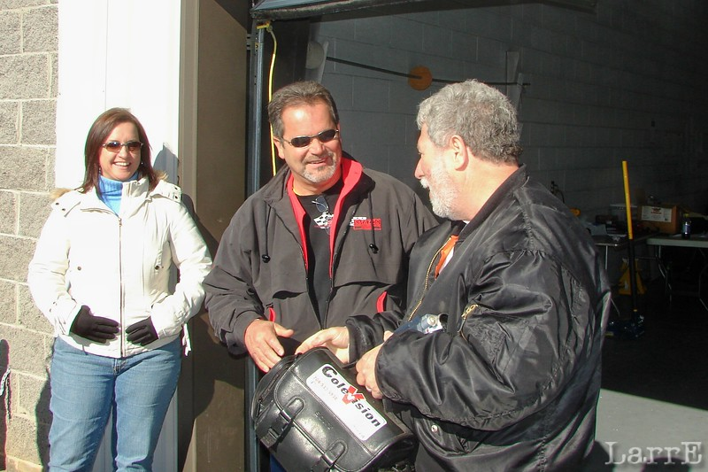Ira Small and Butch Cole have been racing buddies for over 30 years.