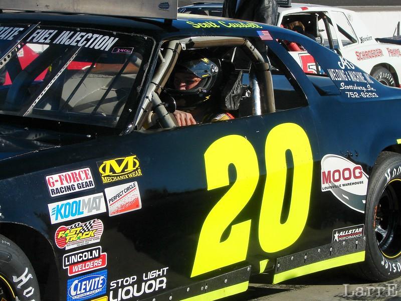 #20 Scott Caudell<br /> Scottsburg, In<br /> finished 23rd