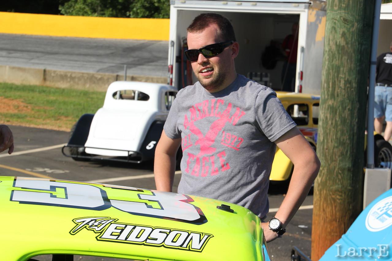 Trey Eidson #53 Legend Car