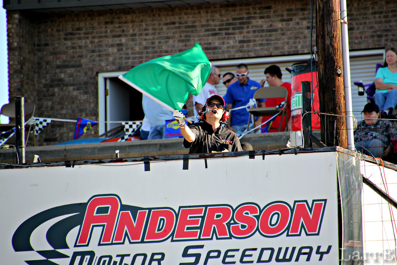 We are at Anderson Motor Speedway, SC on Friday June 14, 2013