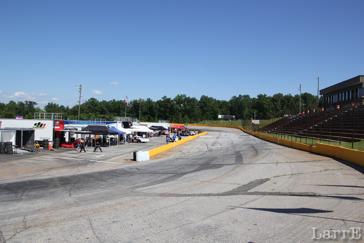 Anderson Motor Speedway is a half mile paved banked track.