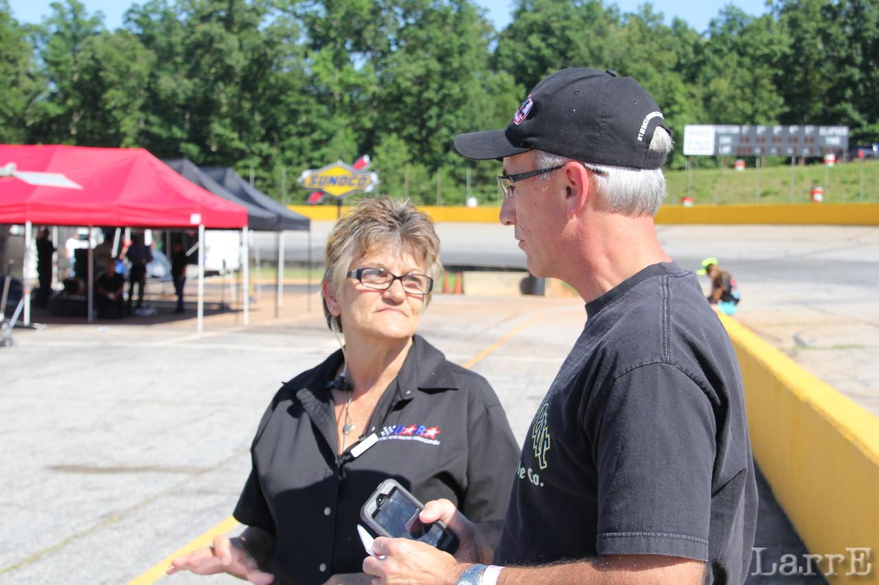 Wink Bodenhamer (she runs the UARA series along with her husband Kerry) talks with Lenny Batycki