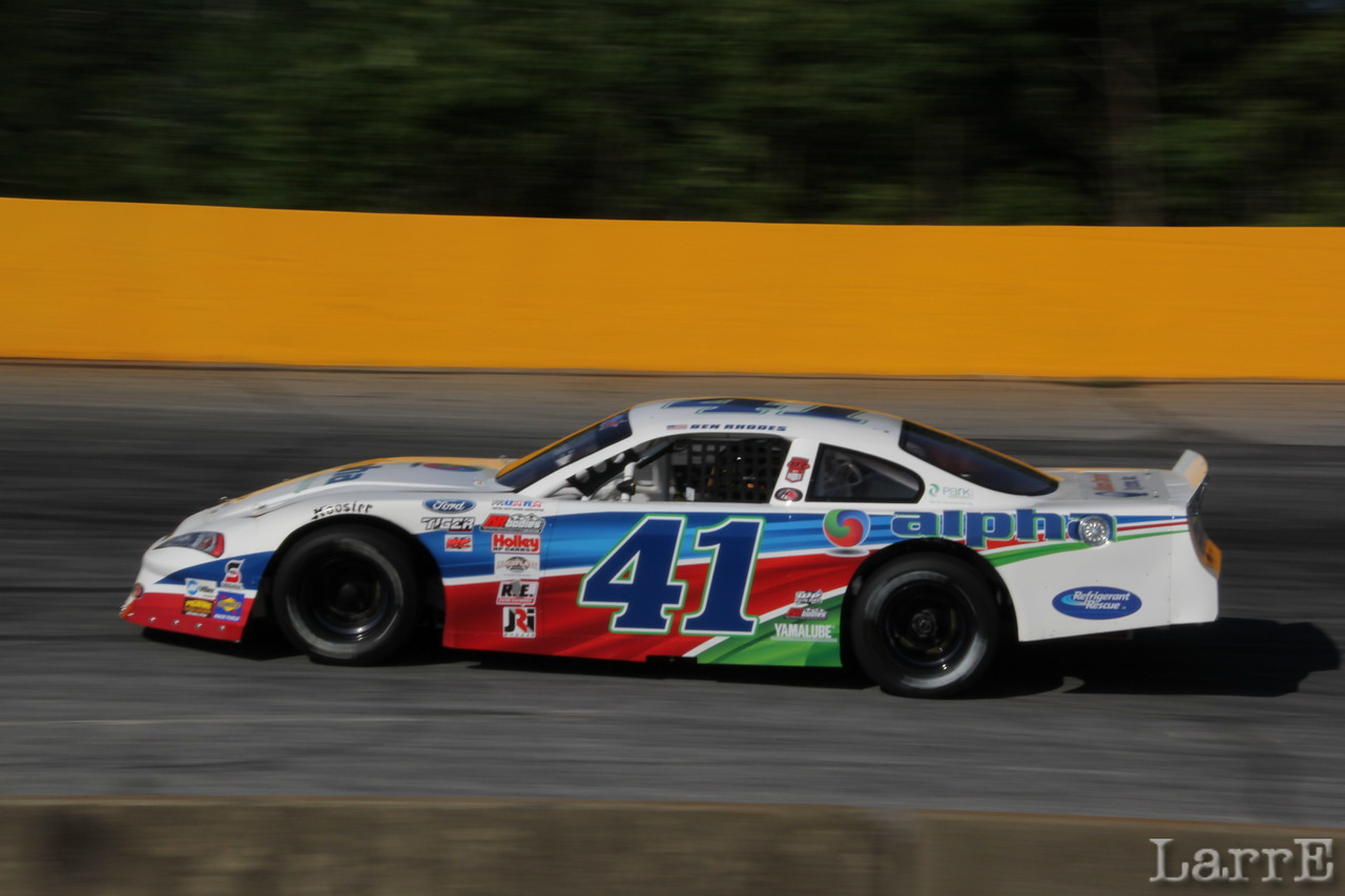 #41 Ben Rhodes finished 7th