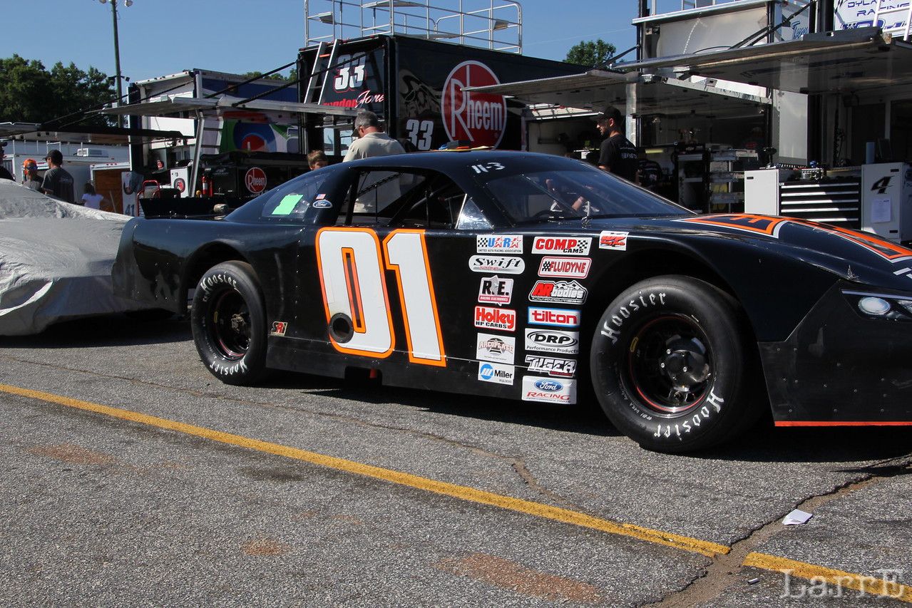 #01 Will Burns finished 10th