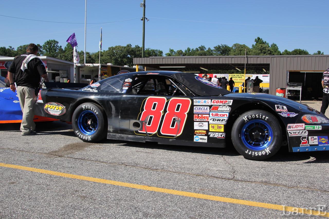 #88 Garrett Jones finished 13th