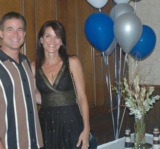 Melinda Myers Hill with husband, Jeff