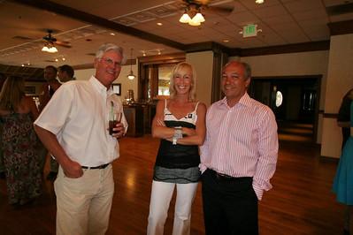 Brooks Benjamin, Dana Myerson Agamalian, and husband, John